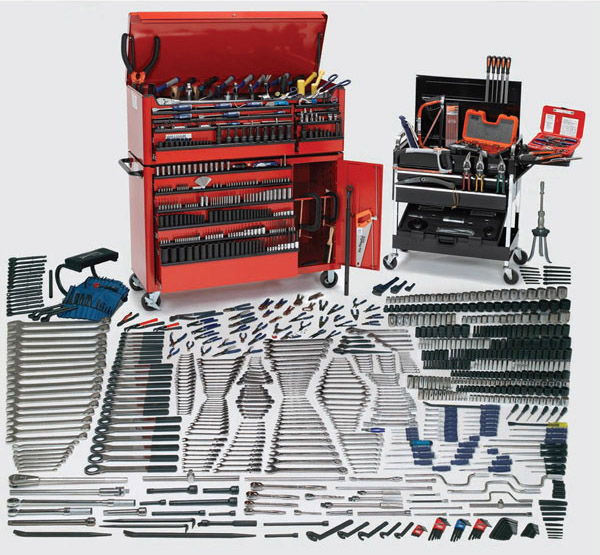 WSC-1390TB 1390-Piece Mammoth Tool Set